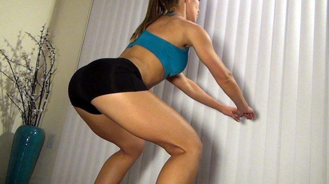 Exercícios para fazer em casa - Agachamento