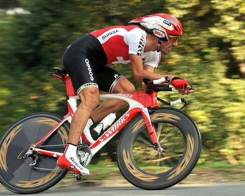 Fabian Cancellara em busca do sucesso