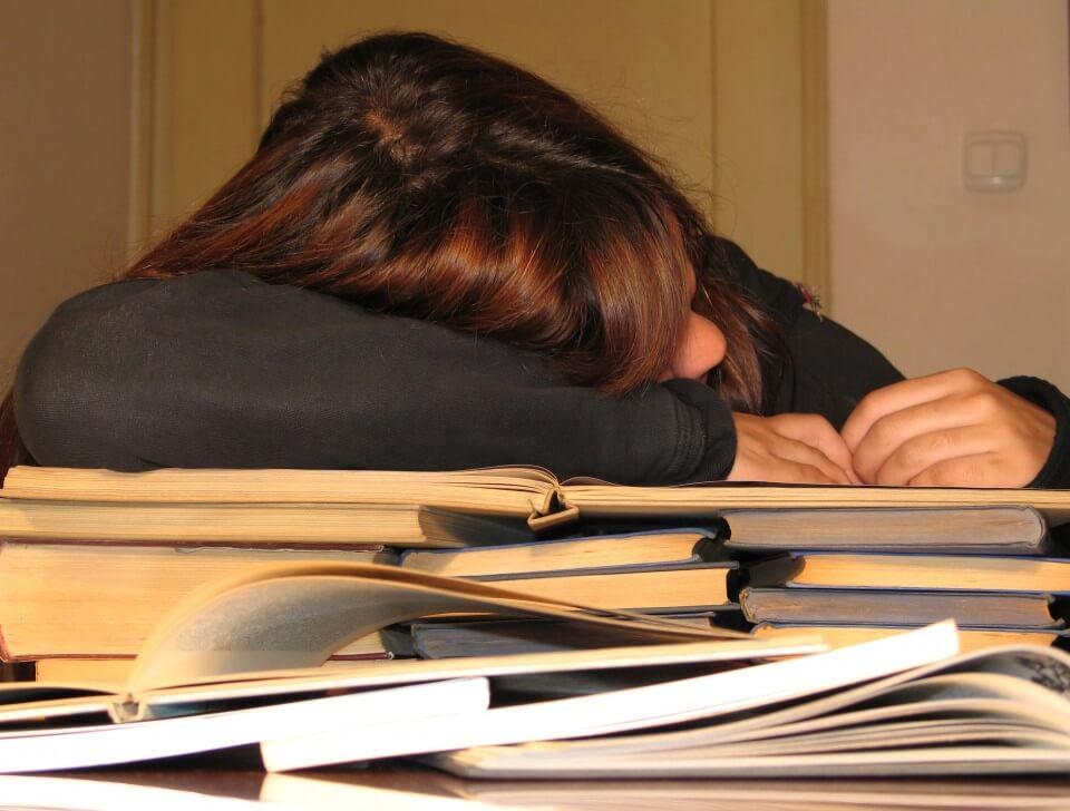 Técnica Ninja: você dorme em cima do livro e o conteúdo entra por osmose em seu cérebro
