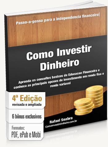 Capa do livro Como Investir Dinheiro