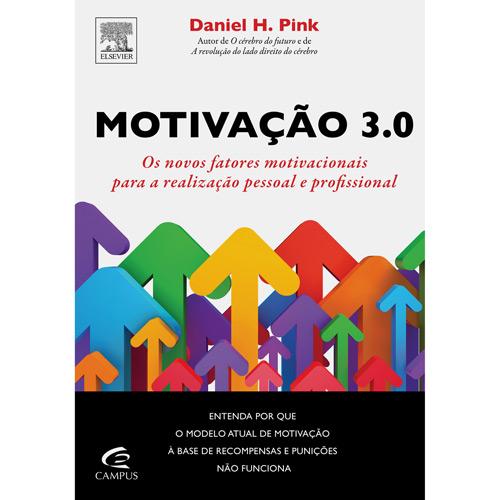 Capa do livro Motivação 3.0, de Daniel H. Pink