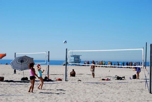 Praia de Santa Mônica - Los Angeles