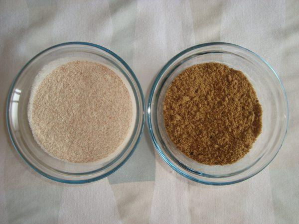 Açúcar e trigo