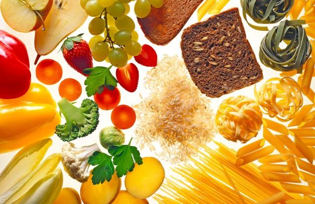 Imagem contendo alguns dos alimentos listados