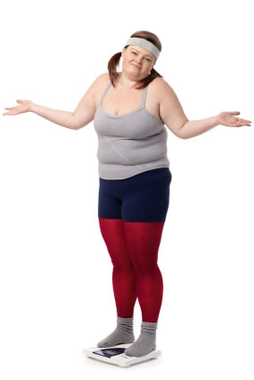 Gorda sem corpo ideal