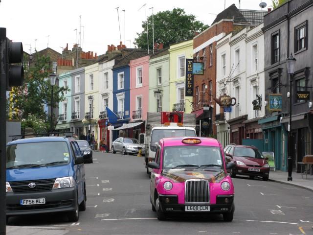 Londres - Um lugar chamado Notting Hill