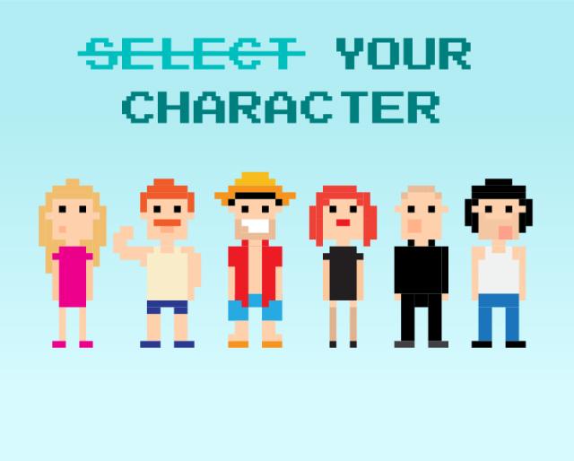 Escolha seu personagem
