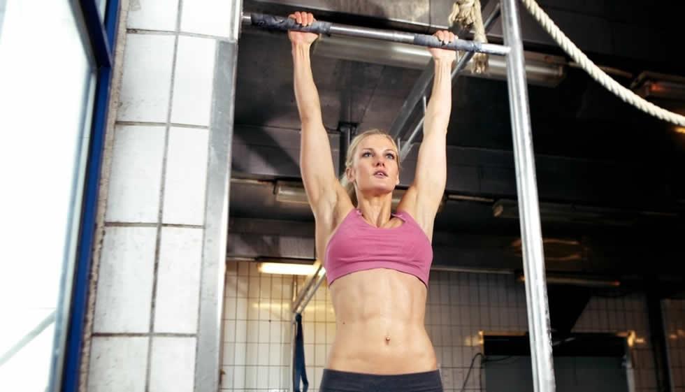 Melhores exercícios na barra fixa