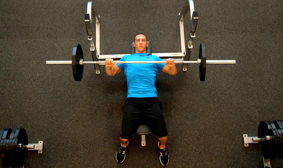 Melhores exercícios - Supino, exercício para peito