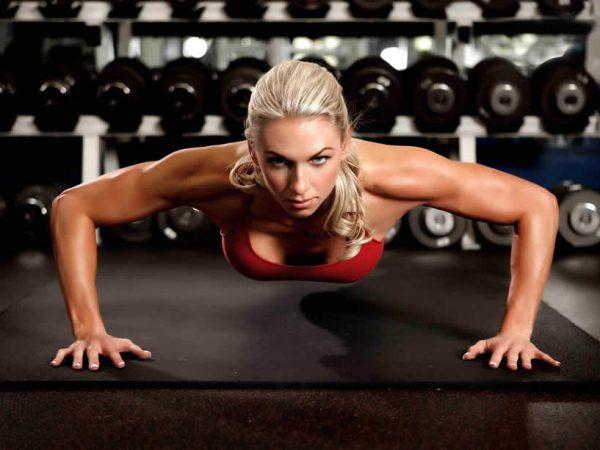 Exercício flexão