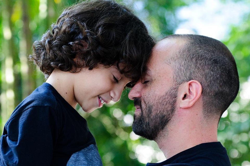 Eu e meu filho.