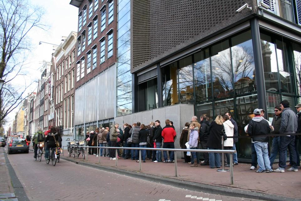 Museu Casa de Anne Frank em Amsterdam