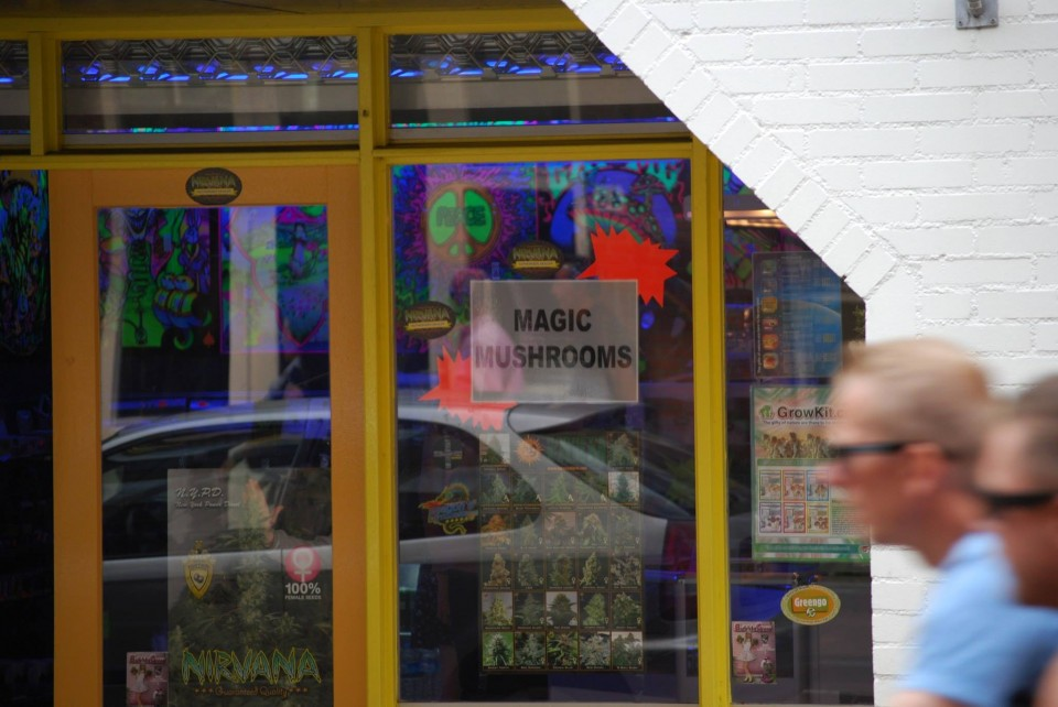 Coffee Shop de maconha em Amsterdam