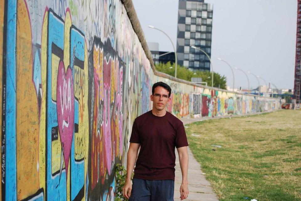 East Side Gallery, Muro de Berlim grafitado.