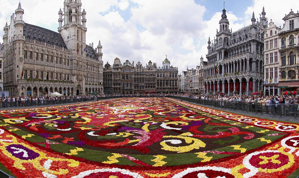 Tapete de Flores da Grand-Place de Bruxelas