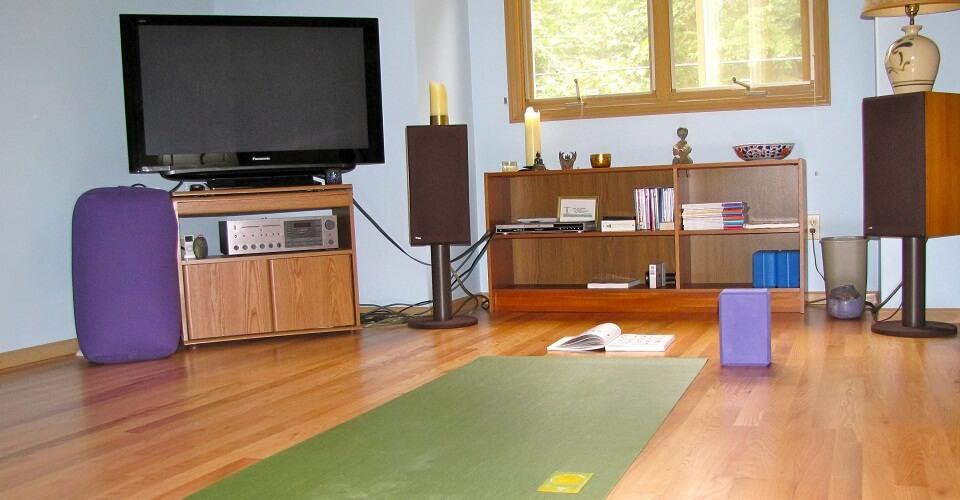 Yoga para iniciantes em casa