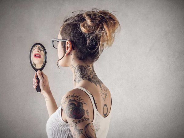 Trabalhar no que ama no espelho
