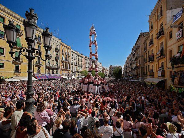 Tarragona, Espanha, Castelos Humanos