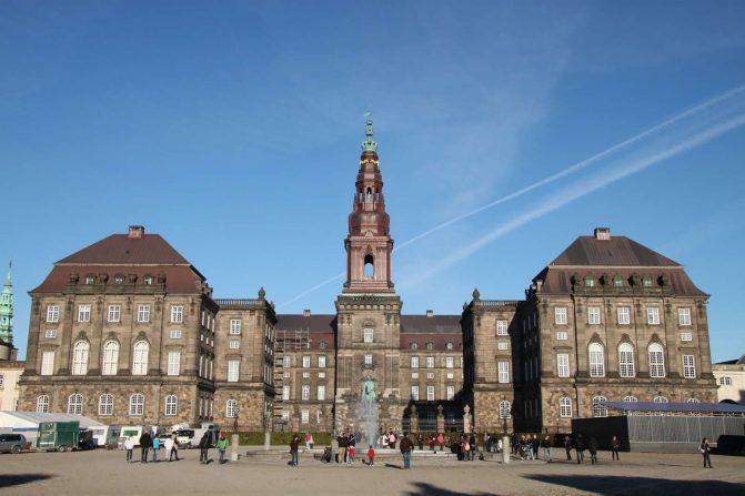 Chrstiansborg Slot, Copenhagen