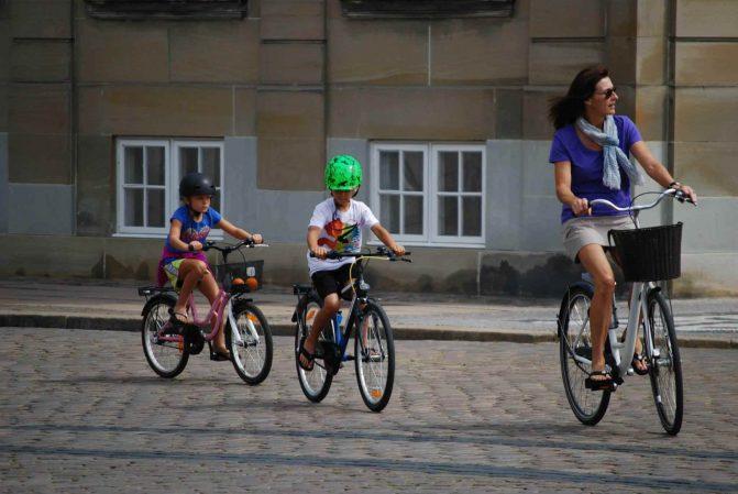 Bicicletas em Copenhagen