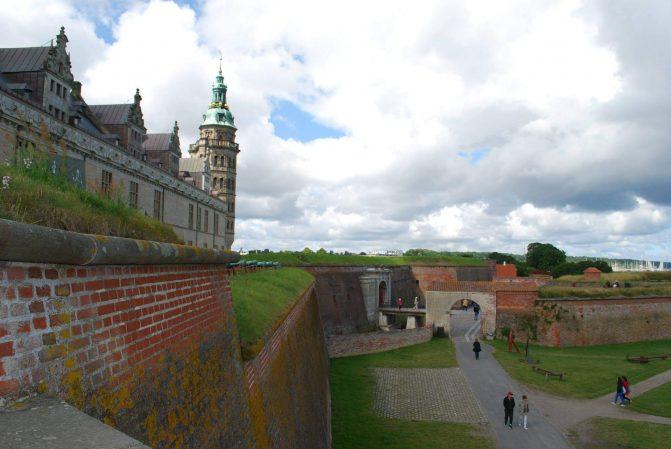 Castelo de Kronborg, palco de Hamlet