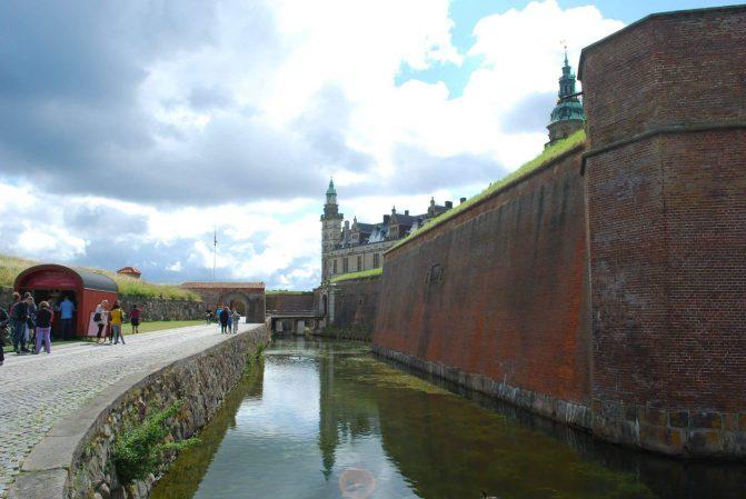 Túneis do Castelo de Hamlet na Dinamarca