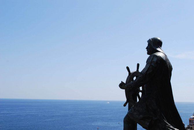 Estátua do Príncipe Albert de Mônaco