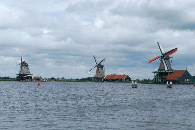 Zaanse Schans: moinhos de vento