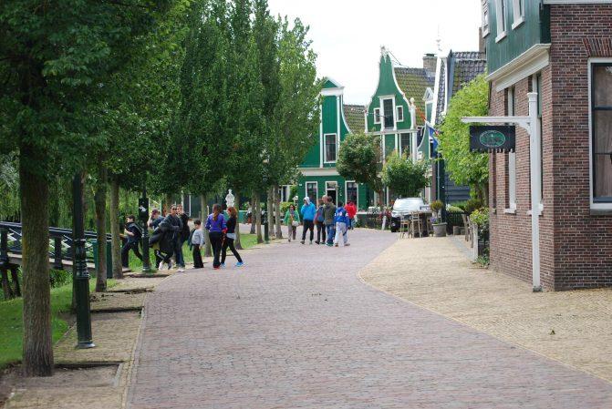 A cidade de Zaanse Schans