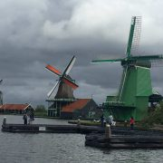 13 moinhos de vento em Zaanse Schans