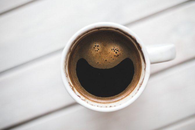 Café com manteiga: resultados