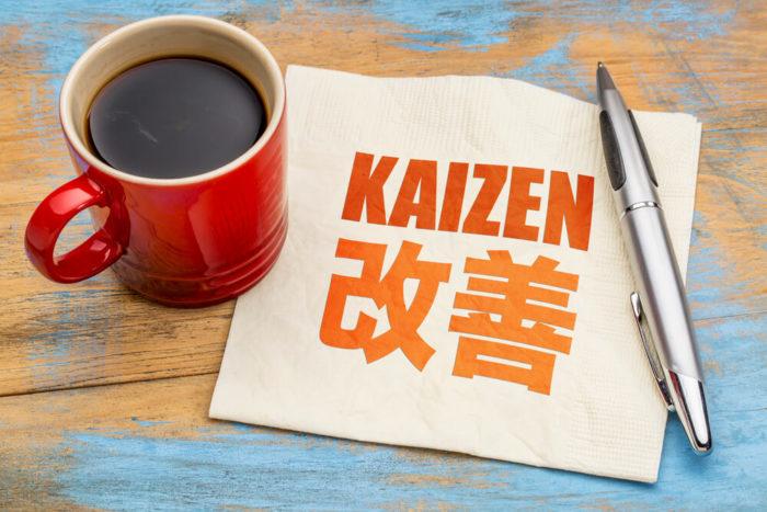 Kaizen melhoria contínua