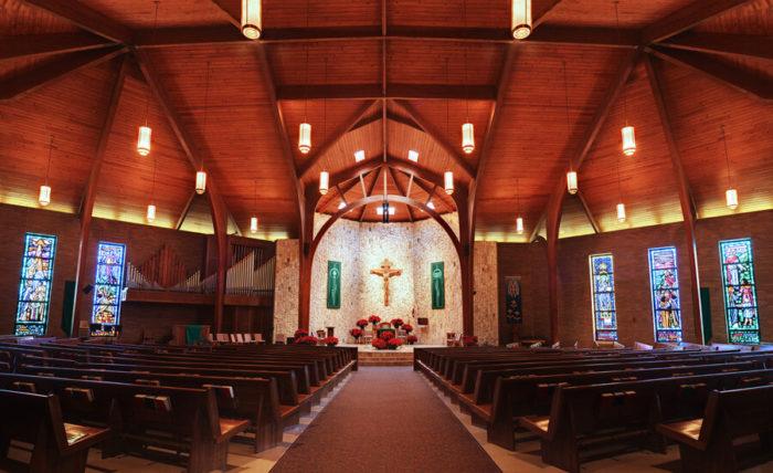 Igreja de Santo Tomás de Aquino no Texas