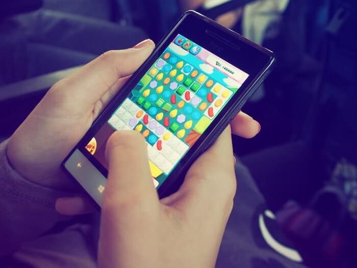Jogo de celular